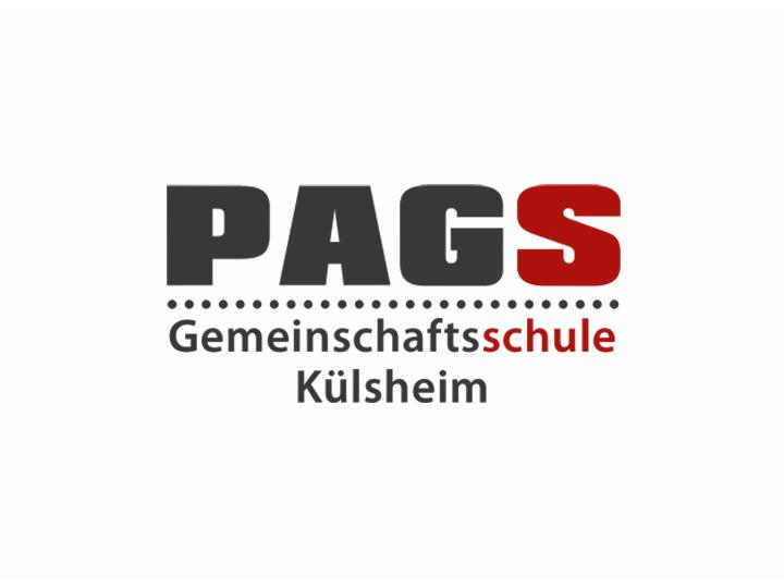 PAGS-Logo mit Effekt